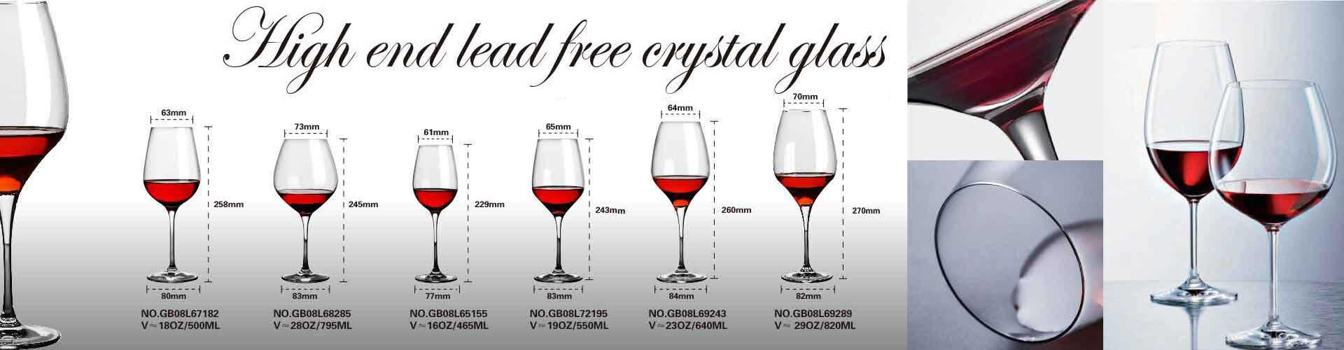 glass stemware wine glass wholesale