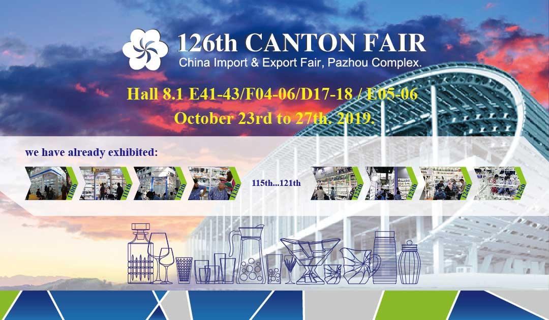 The 126th Canton Fair Glassware