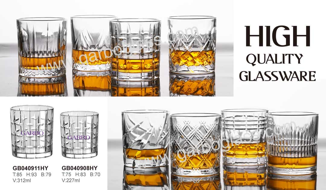 Engraved Glass Cups New Glassware Design