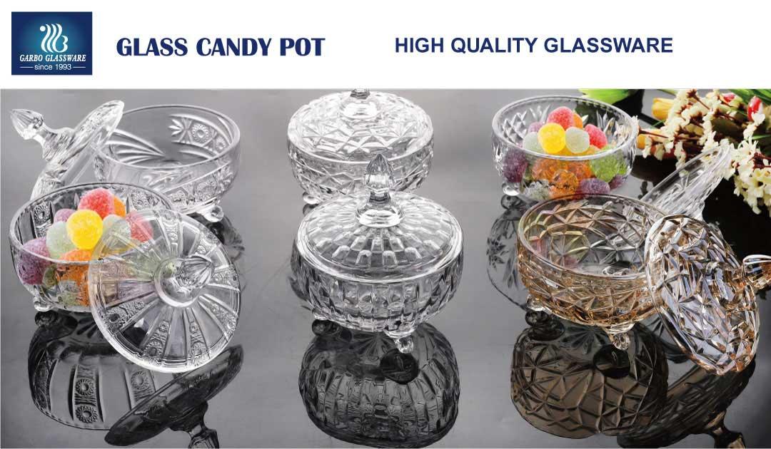 glass candy jars