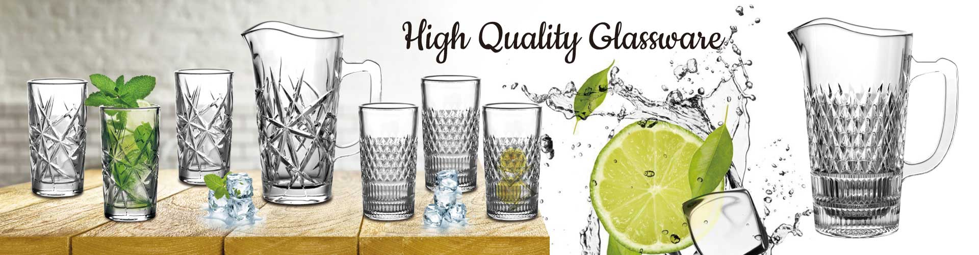 drinking glass clear water pitcher manufacturers