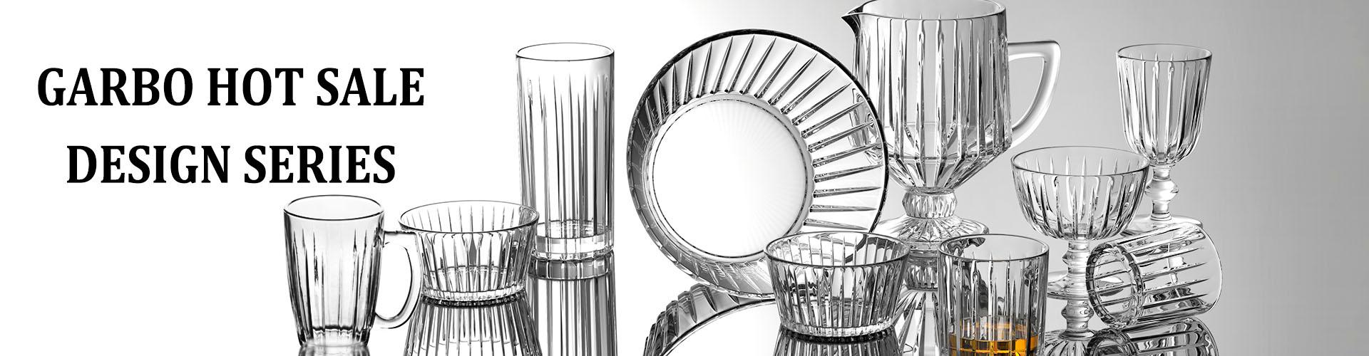 Conjunto de copos estilo H