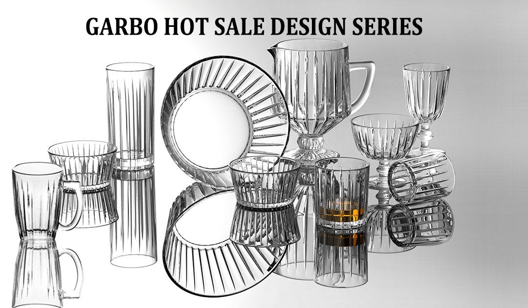 H style glassware set