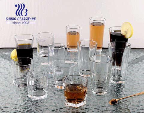Klassischer weltweit beliebter Glasbecher Rockglasbecher Longdrinkglas