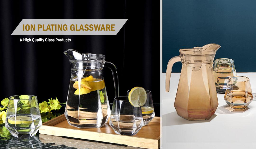 ion plating glassware