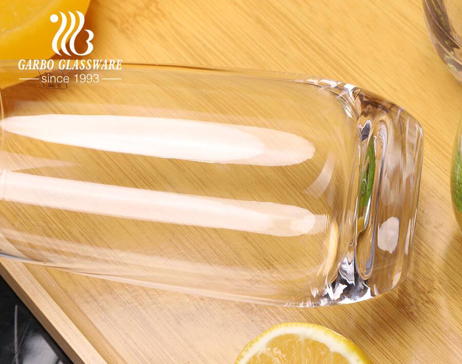 Cao cấp trong suốt cắt laze cốc thủy tinh để phục vụ nước giải khát