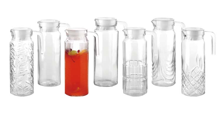 China glass pitcher suppliers