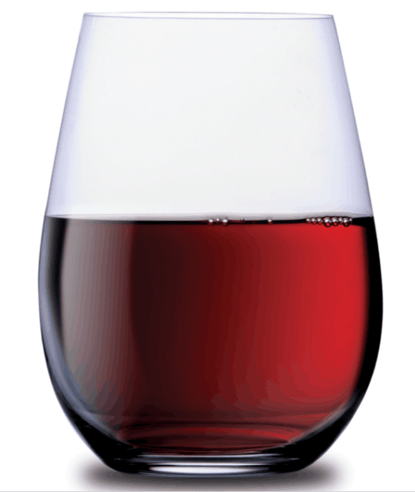 The history of stemless wine glasses