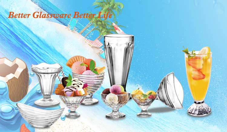 China  manufacturer classic glass dessert cups