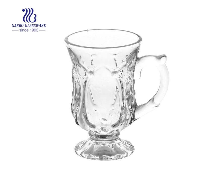 65ml small tea glass with handle