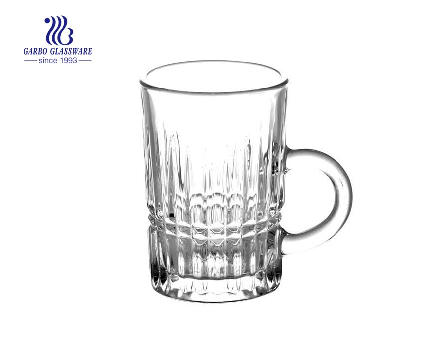 small tea mug glass with 115ml