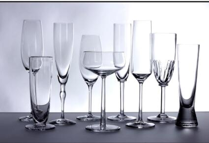 There is much learning in choosing glassware