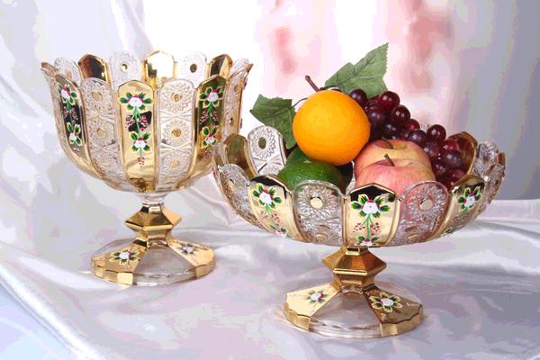 Gold Plating Craft of Glassware