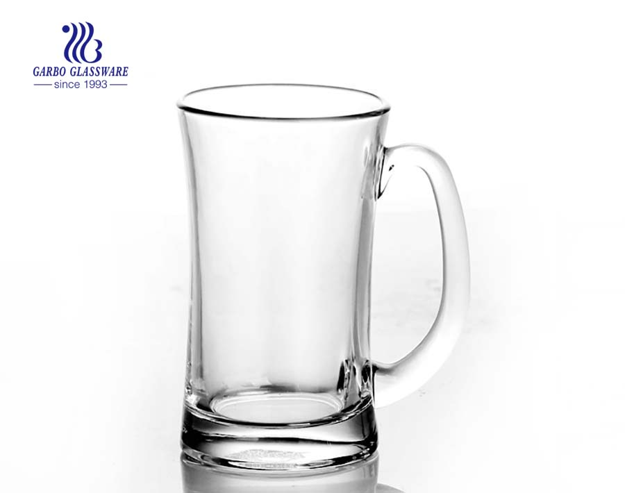 380ml clear beer glass