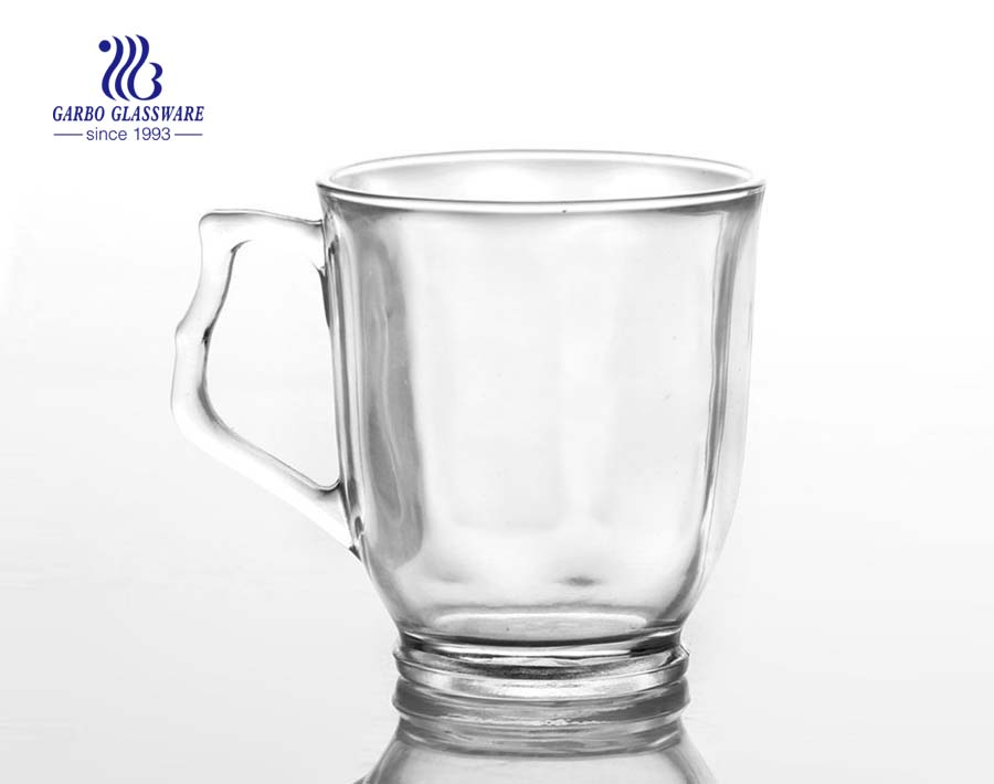 10oz water glass with handle