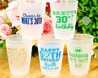 frosted glasses tumblers