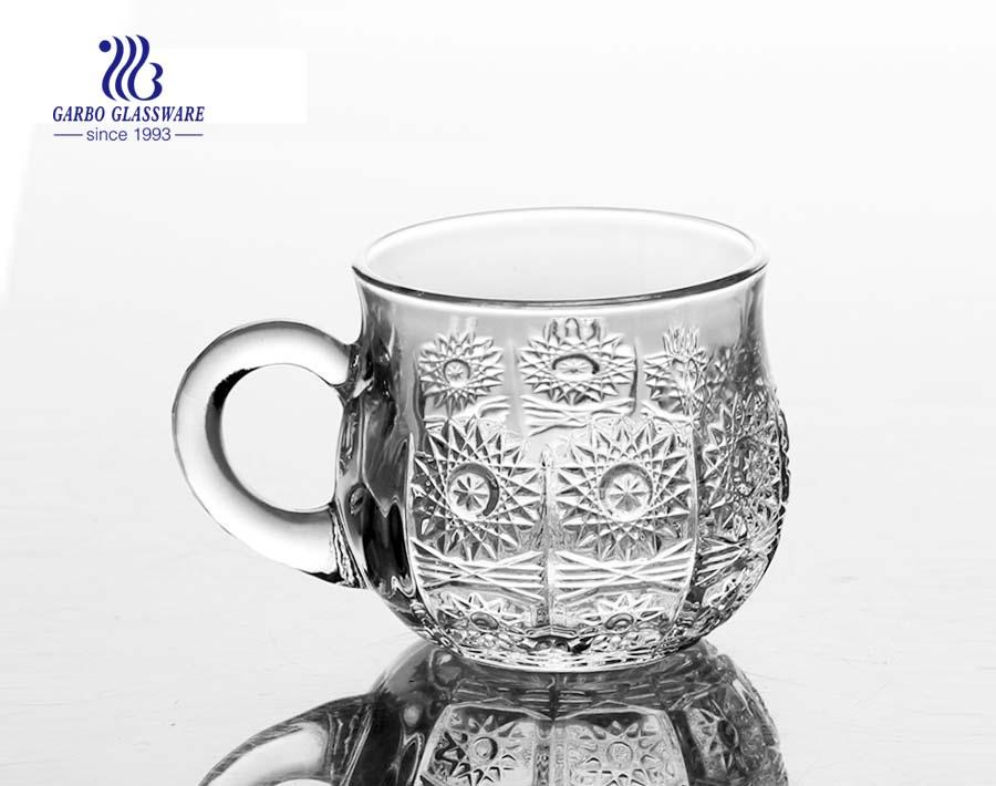high quality glass tea mug