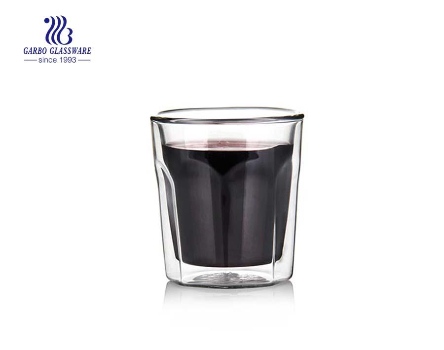 4oz Rock style pyrex glass