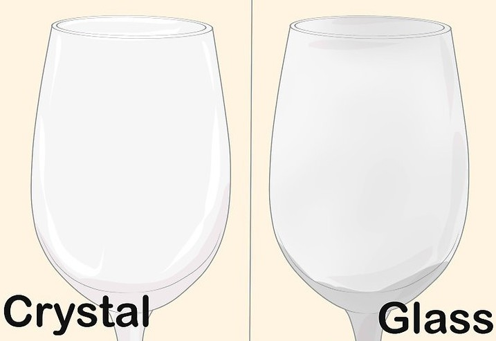 The difference between crystal glass and normal glass cup