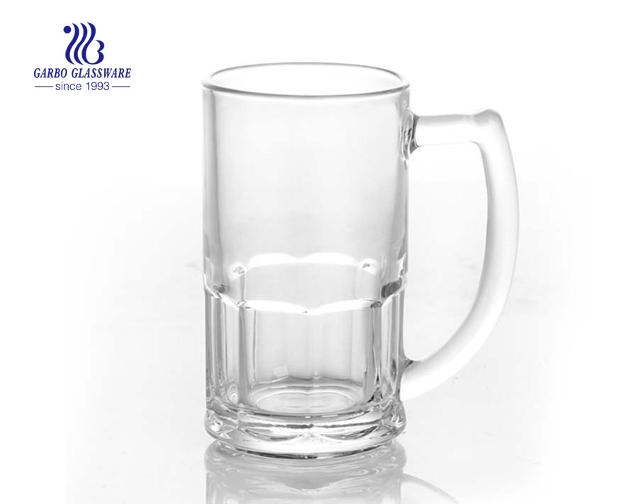 352ml beer glass with handle