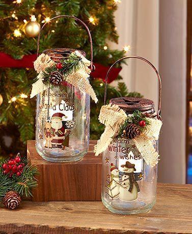 Ordinary glass jar, extraordinary decoration.