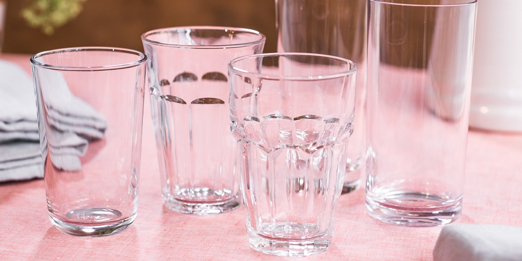 Tempered glassware, a type of unbreakable glassware