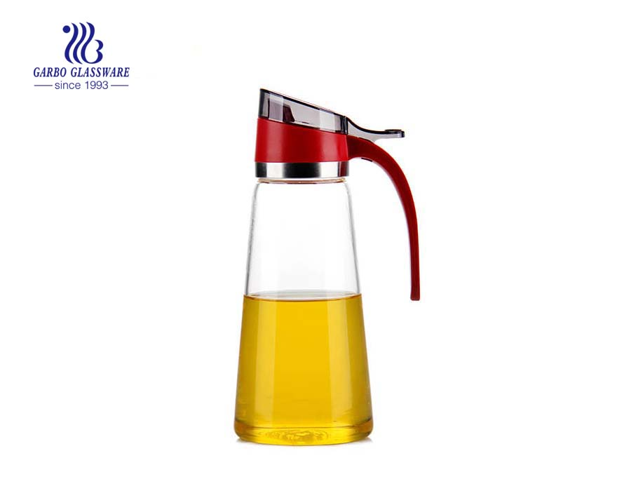550ml Daily used home glassware pyrex glass oil bottle