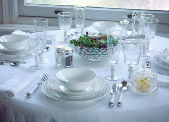 Phức tạp đối với tôi khi biết cách sắp đặt bàn ăn - vị trí đặt đồ thủy tinh