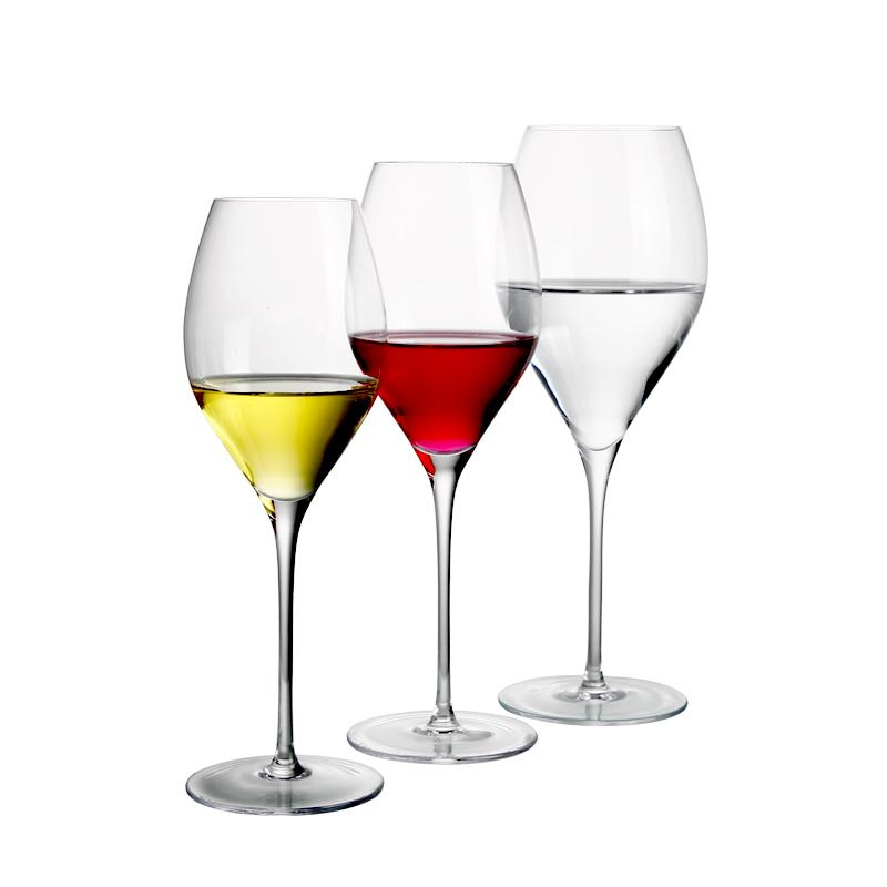 How to distinguish crystal goblet or soda lime glass goblet?