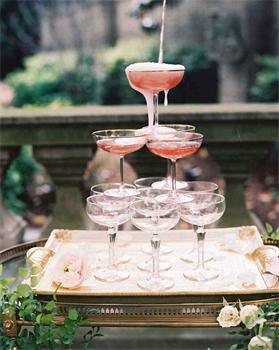 The cups for Wedding