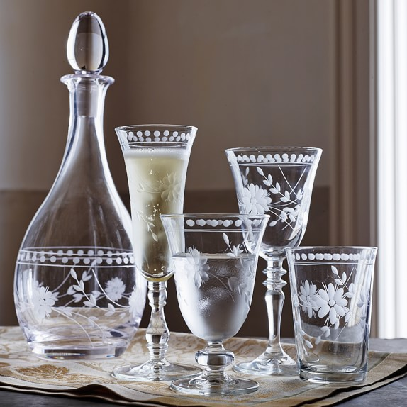 How to distinguish a flint glass ?