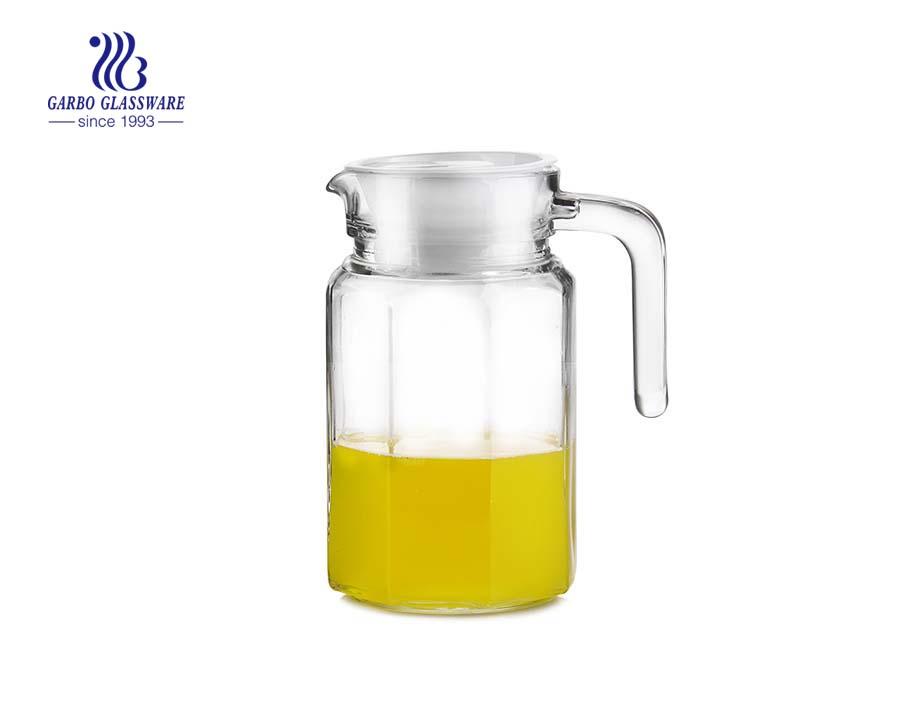 Diário Glassware China Factory Vidro Água Jarra Trading