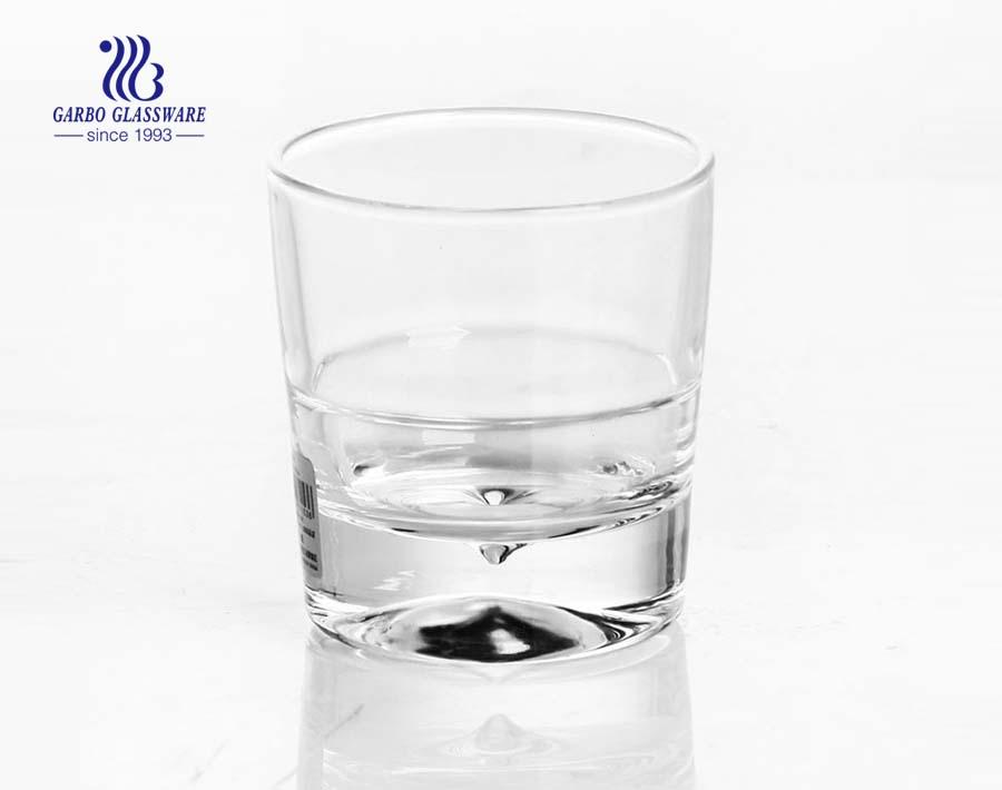 Cốc thủy tinh trong suốt 6oz để uống rượu whisky