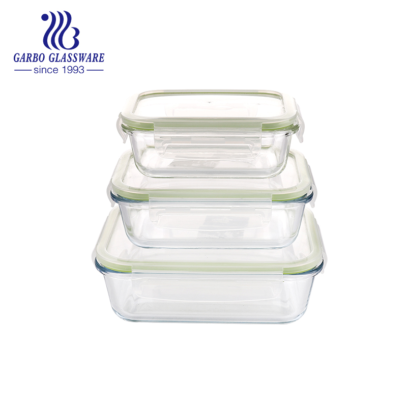 Is it safe to use glass food container?