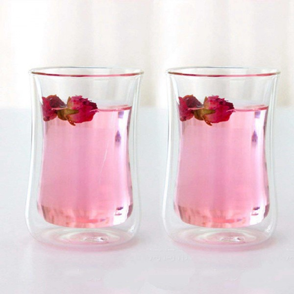 The double wall glass in hot sales from Garbo Glassware