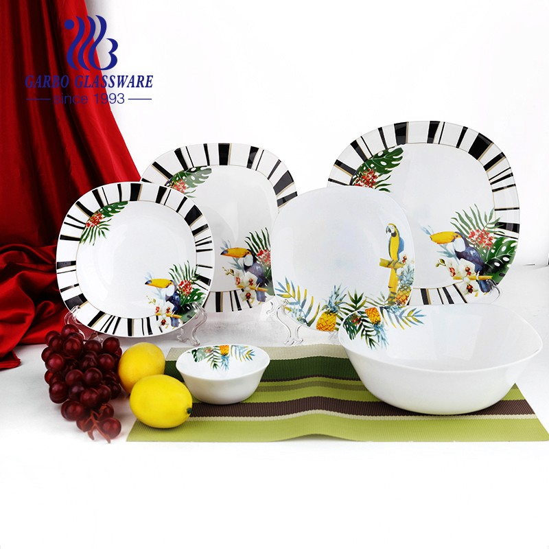 The advantages of opal glass tableware
