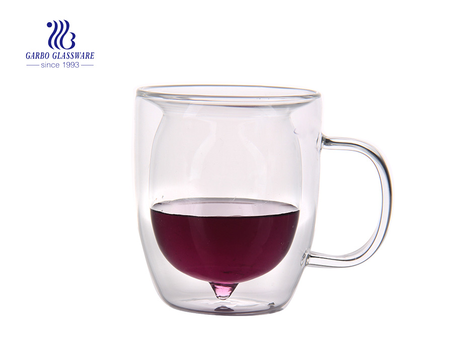 Does the double wall glass cup keep warm