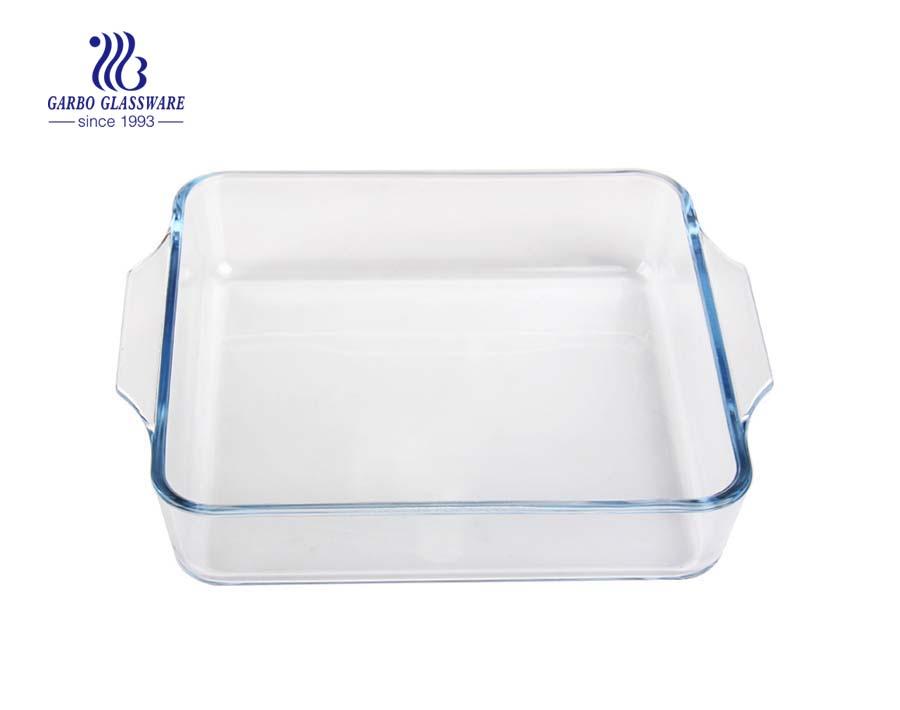 Anchor Hocking Around 8-Inch Square Glass Baking Dish Deep Pie Plate