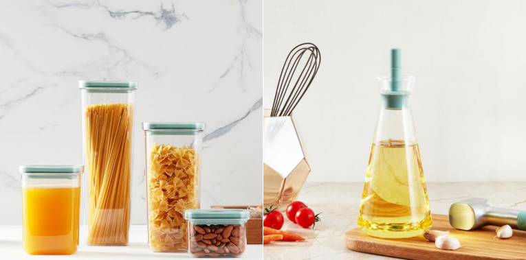High borosilicate storage jar is a kitchen storage expert