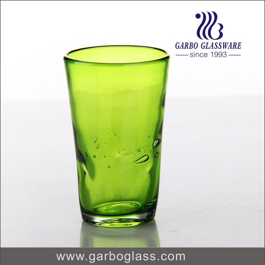 Why glass cup will be broken with hot water