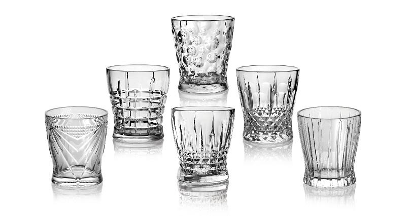 The art of embossed glassware