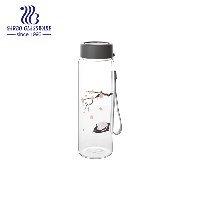 Glassware with Sakura design is popular recently
