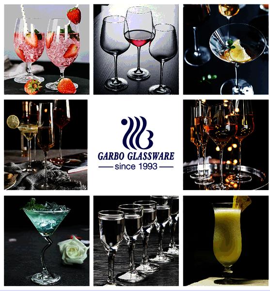 Custom Logo Red Wine Glass For Wedding Glassware