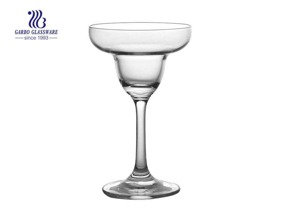 Copo de cocktail elegante do copo de vinho do cálice da praia de 200ML 7OZ