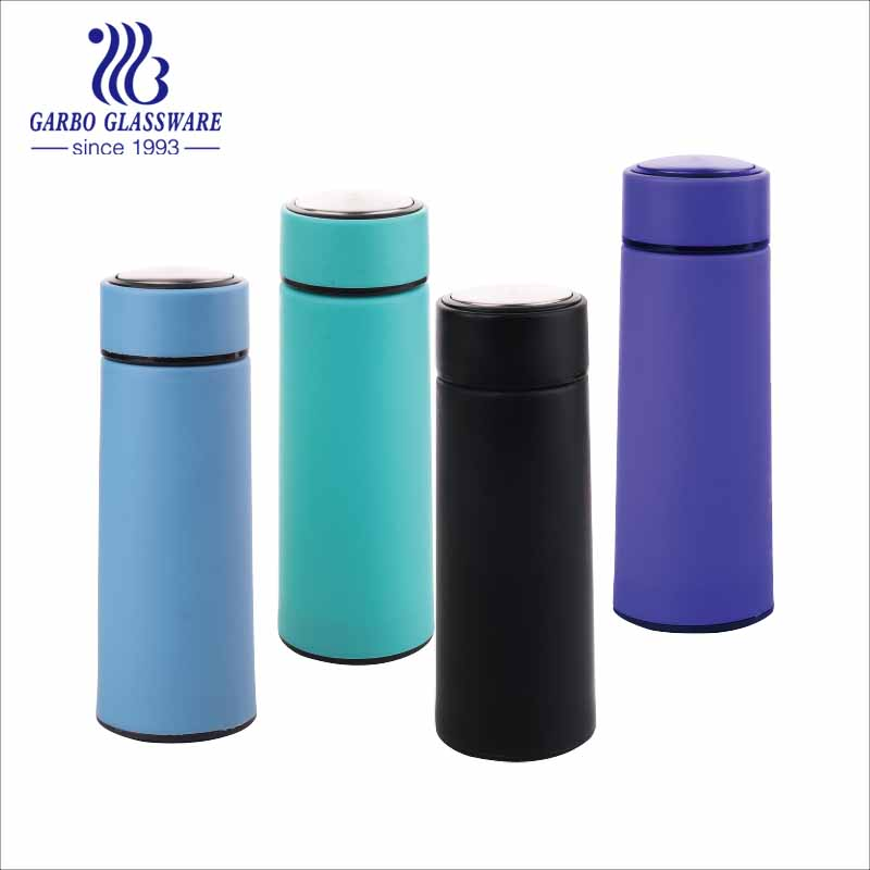 colored glass bottles wholesale with plastic cover