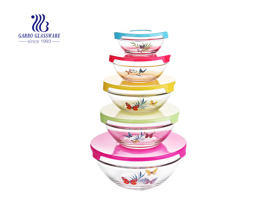 sglass storage bowl