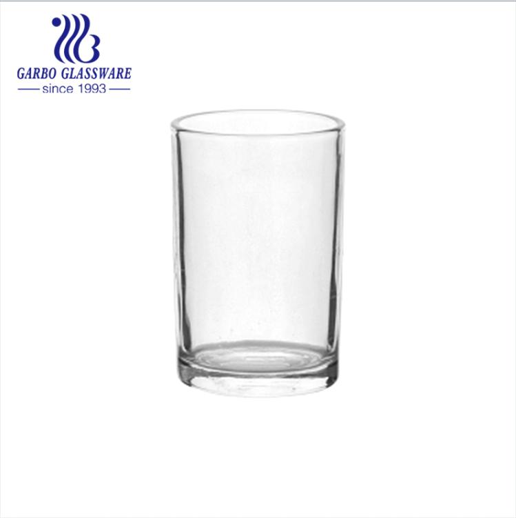 Machine made glass cup