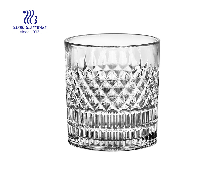 Europe style hot selling glass whiskey cup