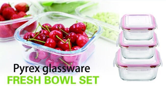 glass food container factory