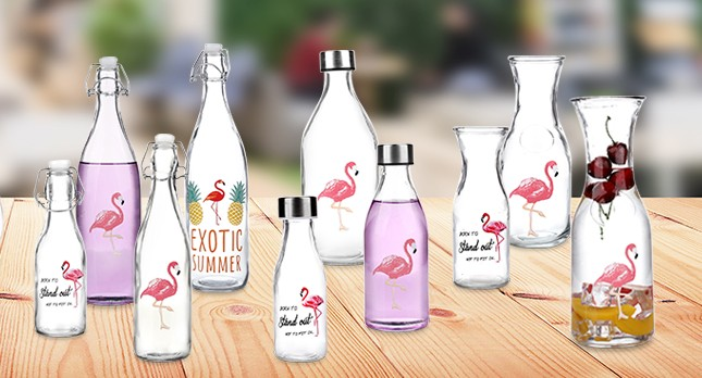 China glass bottle factory